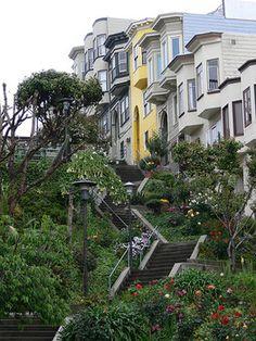 San Francisco: Vallejo Street Steps