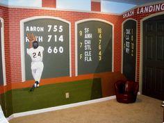 "Baseball Room ""The Catch"""