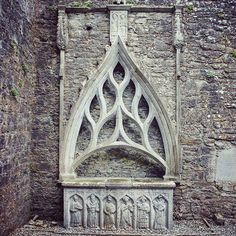 """Irish Archaeology.ie (@irish_archaeology) on Instagram: """"Beautiful 15th century wall tomb, Kilconnell Friary, Galway""""."""
