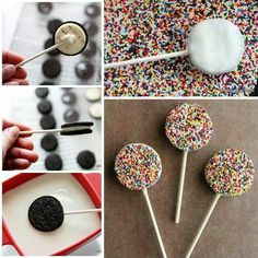 Biscuit pops