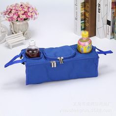 Cup Bag Baby Stroller Accessories Stroller Organizer Baby Carriage Mum Hanging Pram Bottle Bag