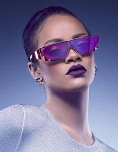 La paire de lunettes futuriste de Rihanna pour Dior