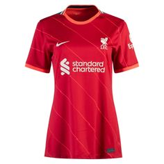 Liverpool 21/22 Home Women Soccer Jersey Personalized Name and Number – zorrojersey Liverpool, Of Brand, Football Jerseys, Soccer, 21st, Names, Model, Mens Tops, Fashion