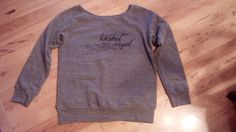 #Twisted Angel #Fleece  gray slouchy wide by #TwistedAngelClothing, $40.00