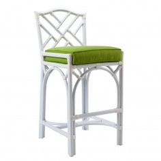 Chippendale Outdoor Counter Stool - Sunbrella  |  David Francis AW8087-CS