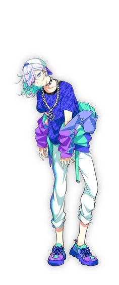 矢戸乃上珂波汰 | CHARACTER | Paradox Live Character Inspiration, Character Art, Anime Siblings, Dramatical Murder, Manga Boy, Video Game Art, Anime Style, Art Reference, Anime Characters