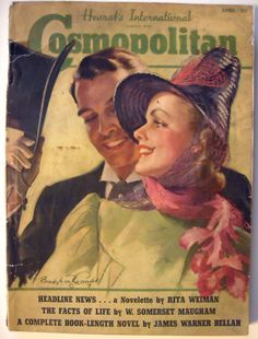 April 1939 cover with Phyllis Brown