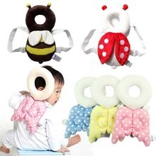 Baby Head Protection Pad Cute Wings Anti Crash Pad Angel Style Cotton Prevent Toddler Fall down Baby Learn to Walk Protectiion(China (Mainland))
