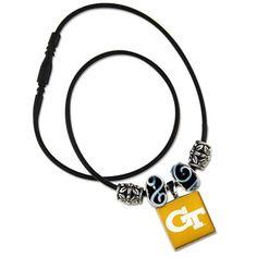 $20 Georgia Tech Yellow Jackets LifeTiles Necklace