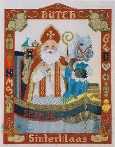 Sint Nicolaas - Dutch Sinterklaas patroon : NMC - De Spinnerij              NO PATTERN