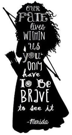 If our daughters want to be like a princess we should encourage them to be more like Merida.
