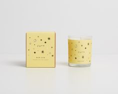 'flora' custom scented soy wax votive candle