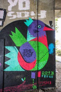 Street Art in Nantes, France | PEDRO