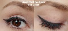 Review of Avon Khol Eye Liner in Sea Green