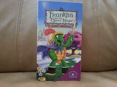 VHS Franklin and the Green Knight in Wascopete's Garage Sale in Tooele , UT for $.5.