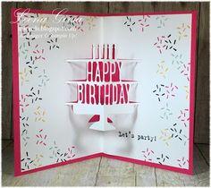 A La Cards - SU - Party Pop-Up - Birthday card inside