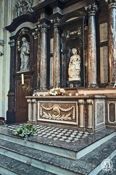 Church of Our Lady (home of Michelangelo's Madonna and Child), Bruges, Belgium