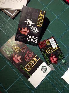 From Starbucks in Hong Kong.