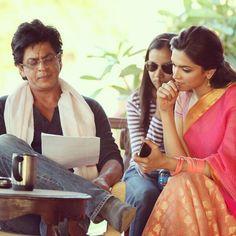 Shahrukh Khan and Deepika Padukone - Chennai Express (2013)  Embedded image permalink
