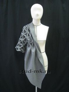 Origami Fashion Texture ideeën Draping Techniques, Fabric Manipulation Techniques, Origami Fashion, Fashion Fabric, Fashion Art, Fashion Design, Fashion Studio, Dress Fashion, Trendy Fashion
