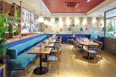 Bella Italia, Wolverhampton - Focus Design. Restaurant Design