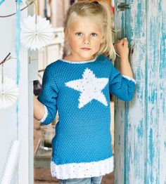 Туника с мотивом «Звезда» - схема вязания спицами. Вяжем Туники на Verena.ru