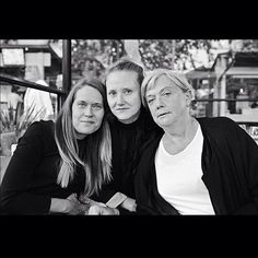 2016-birthday dinner for my dear daughter lee (the one in the middle) with jenny and britt-marie-sth-sverige. Leica-APO-35mm-Lux-Tri X by samsweden.martin