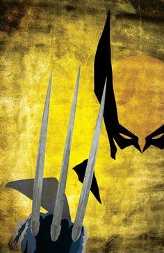 Wolverine ( X-Men ) // Marvel // Art Marvel Wolverine, Marvel Comics, Hq Marvel, Arte Dc Comics, Marvel Heroes, Wolverine Cartoon, Wolverine Poster, Captain Marvel, Comic Book Characters