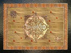 Arabesque Traditional Motif Art 2  by Renee Lozen, Palm Harbor
