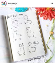 Working on bullet journal doodles can help you relieve stress, relax and improve productivity levels. Have fun adding these cute doodles to your bullet journal notebook! Bullet Journal Notebook, Bullet Journal Ideas Pages, Bullet Journal Inspiration, Doodle Inspiration, Study Inspiration, Doodle Art For Beginners, Easy Doodle Art, Doodle Drawings, Easy Drawings