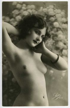 Risqué photographs and postcards from the early 20th century