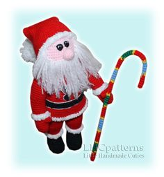 Santa Claus / Father Christmas Crochet Pattern PDF by LHCpatterns on Etsy