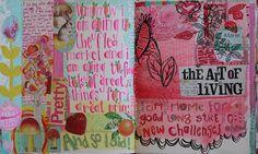 summer journaling by pam garrison, via Flickr