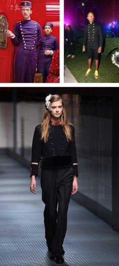 Check out From Pharrell to Gucci Fall 2015: The Grand Budapest Hotel Effect Gathers Speed  http://styleshub.com/fashion
