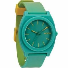 Montre Nixon The Time Teller P / Yellow Teal Fade