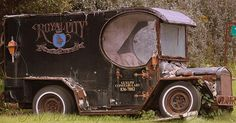 Old car, rusty