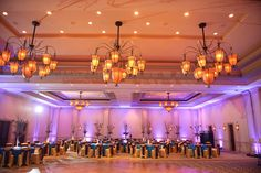 Stunning Reception with Diamond Shaped Dance Floor   Hyatt Regency Coconut Point   Luminaire Foto