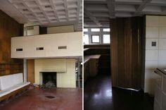 abandoned mid-century homes