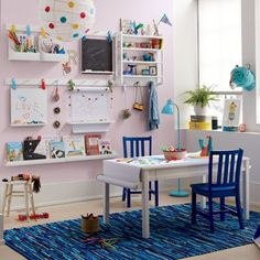 36 Unique Ikea Playroom Design Ideas For Your Inspiration Ikea Playroom, Playroom Table, Toddler Playroom, Playroom Furniture, Playroom Design, Ikea Kids Bedroom, Kids Playroom Storage, Wall Storage, Kids Craft Storage