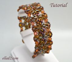 patterns for super duo beads | Tutorial Annelies Bracelet-Beading tutorials and Patterns by Ellad2
