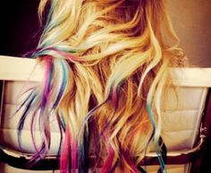 Wish i had blonde hair so i could do this