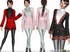 Vêtement femme Sims 3