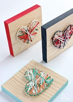 DIY String Art Projects The Holiday season is the best season, decorating my home and the Christmas Tree. So how would you string lights on a Christmas Diy Crafts For Teen Girls, Diy Gifts For Kids, Easy Diy Gifts, Crafts For Kids, Box Regalo, Art Kits For Kids, String Art Patterns, Doily Patterns, Dress Patterns