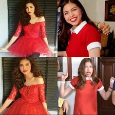 The lady in red. Gma Network, Maine Mendoza, Alden Richards, Theme Song, Film Festival, Lady In Red, Idol, Actresses, Music
