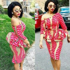 Top Ten Unique Ankara Styles That Are Killing The Game | Dabonke