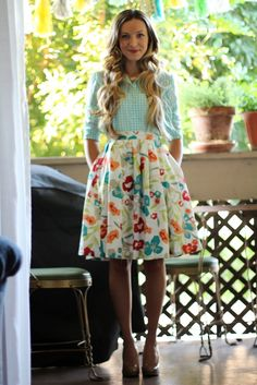 gingham and floral
