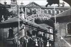 The Worhouse Infirmary, now Brighton General Hospital, was also employed as a military hospital for Indian soldiers. It was renamed the Kitchener Hospital, after Britain's War Secretary Lord Kitchener.