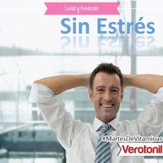 ¿Sabías que Verotonil aporta los mayores requerimientos de vitaminas, minerales y ginseng ante el déficit propio del estrés?  Con Verotonil ¡Activa tu energía! #MartesDeVitaminas #SaludyBienestarBagó #Verotonil