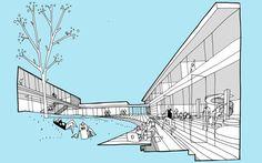 Some description Conceptual Model Architecture, Architecture Presentation Board, Architecture Concept Drawings, Architecture Graphics, Architecture Details, Library Architecture, Pavilion Architecture, Architect Sketchbook, Principles Of Design