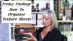 How To Organize Texture Sheets (& Other Supplies!) in a Binder-Friday Findings Polymer Clay Tools, Polymer Clay Creations, Clay Classes, Sewing Machine Thread, Keepsake Crafts, Melted Plastic, Page Protectors, Used Tools, Printer Paper